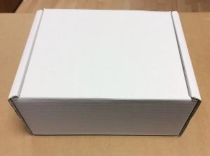 Scatola di Cartone Fustellata con Coperchio 21x16x9,5