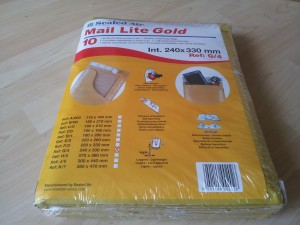 Buste Imbottite Mail Lite Gold – 24x33 cm