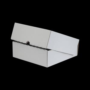 Scatola di Cartone Fustellata con Coperchio 32x31x11
