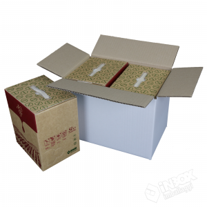30,5x20x23 mono onda per 2 bag in box da 5l