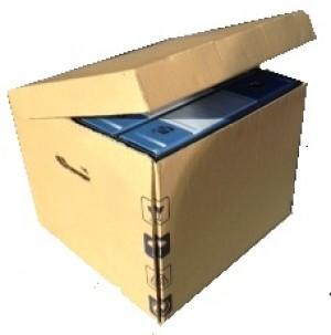 Scatola Archivio Porta Faldoni 38x37x30