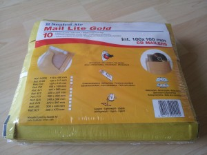 Buste Imbottite Mail Lite Gold – 18x16 cm