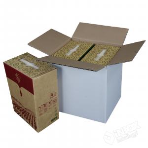 21,5x18x23 mono onda per 2 bag in box da 3l